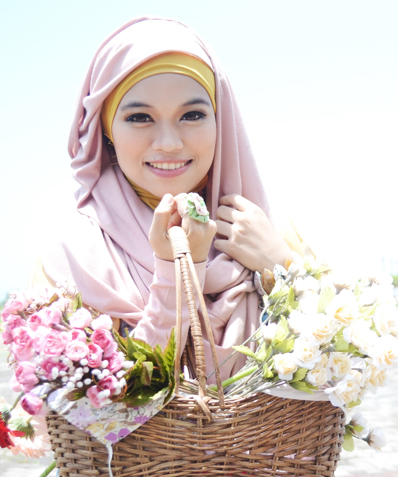 Hijabers Community Bandung Atribut Bordir Sekolah Aceh